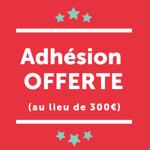 Adhésion offerte